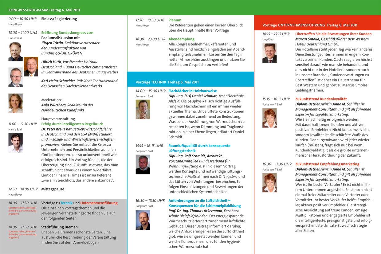Holzbau Deutschland: Bundeskongress Bremen 2011