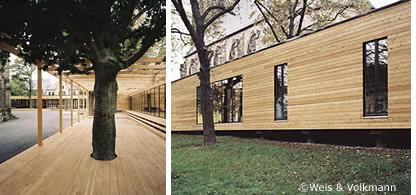 Holzskelettbau architektur  Holzbau Deutschland: Home